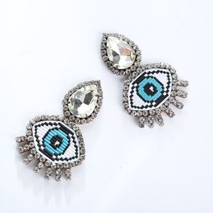 Evil Eye Clip Earring